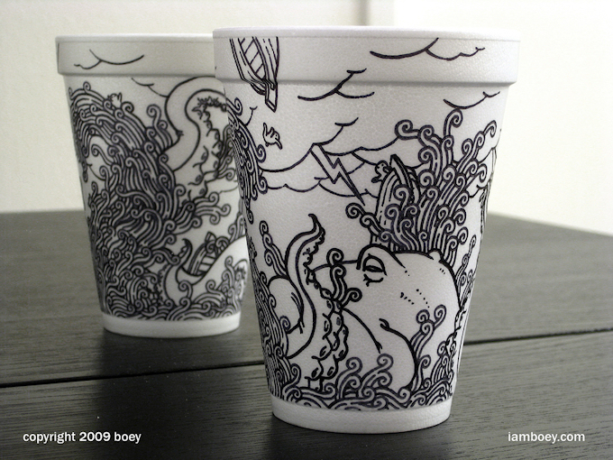 Every cup tells a story