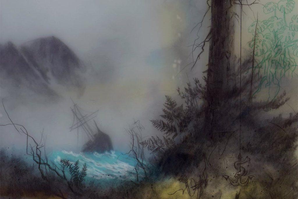 landscape artist BROOKS SHANE SALZWEDEL